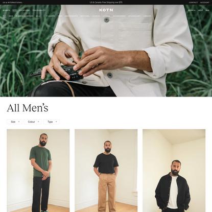All Men's