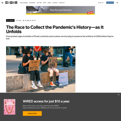 The Race to Collect the Pandemic's History-as It Unfolds
