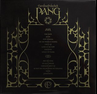 Artwork for @carolineplz Pang, out October 18. Photo by @hugocomte. Vinyl preorder now in Caroline's bio