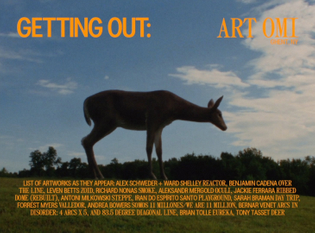 """Document Journal """"Getting Out"""" title cards"""