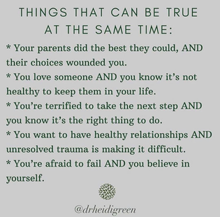 things that can be true at the same time