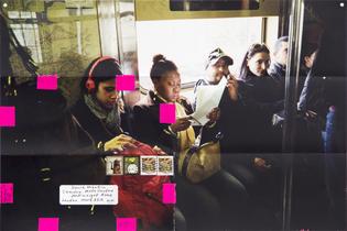 Moyra Davey, Subway Writers, 2011/2014 [detail]