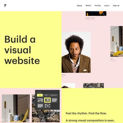 FOTOMAT - Build a Visual Website