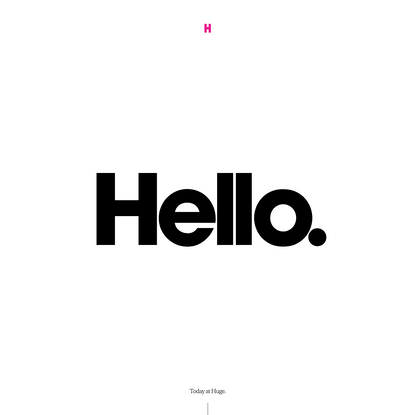 Huge | Digital agency | Digital business | design, marketing, technology