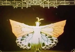 Segundo de Chomón (1908) Les Papillons Japonais Music: @marinaamoore