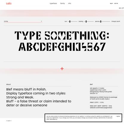 Laïc: Type Foundry