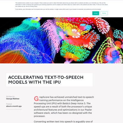 Accelerating Text-To-Speech Models with the IPU