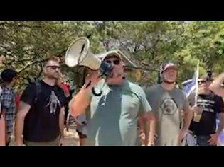 Alex Jones Reopens Austin Park By Force, Leads Protest Against Democrat Closures