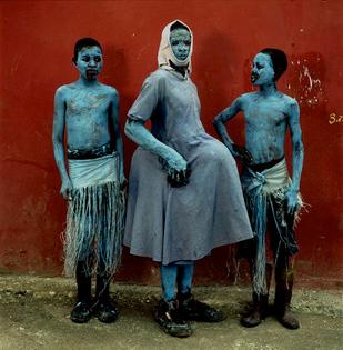 "Phyllis Glaembo ""Carnaval à Jacmel Haiti"""