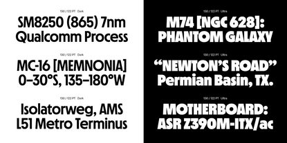 Nichrome by Mass-Driver - Future Fonts