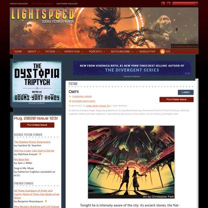 Delhi - Lightspeed Magazine