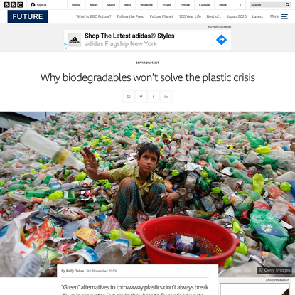 Why biodegradables won't solve the plastic crisis