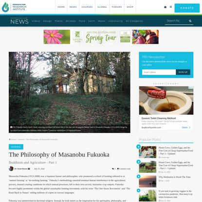 The Philosophy of Masanobu Fukuoka - The Permaculture Research Institute