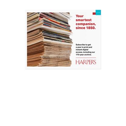 The Long Goodbye | Harper's Magazine