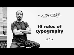 My 10 Rules of typography