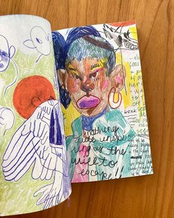 Oh My by Brianna Rose Brooks 🔹 🔹Oh My collects sketchbook drawings by Brianna Rose Brooks from 2015 to 2018. The artist's vi...