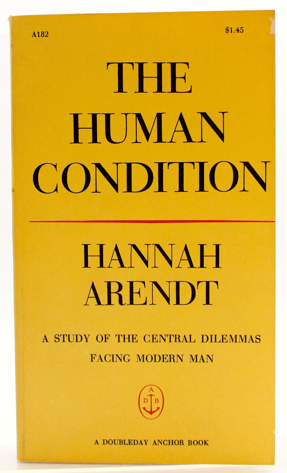 """Hannah Arendt """"The Human Condition"""""""