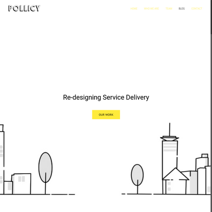 Pollicy - Re-designing Government for Citizens