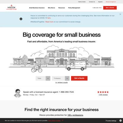 Business Insurance | Hiscox