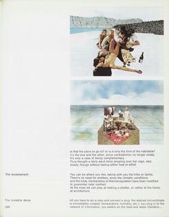Superstudio, Encampment on the Supersurface, 1972