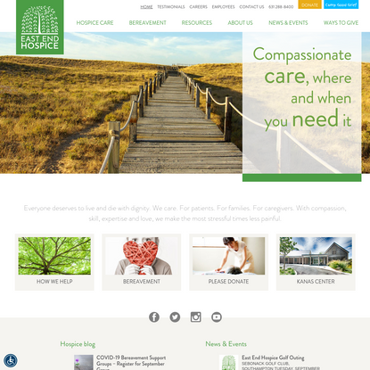 East End Hospice | Compassionate care, where and when you need it