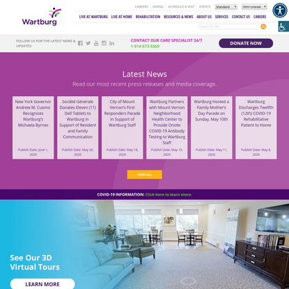 Home Health Care & Rehabilitative Care, Bronxville NY, Mt. Vernon NY | Wartburg
