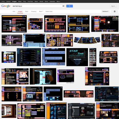 star trek tng ui - Google Search