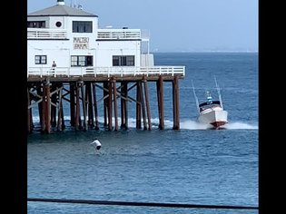 ( OFFICIAL VIDEO ) S.U.P. PADDLE BOARDER ARRESTED FOR SURFING MALIBU