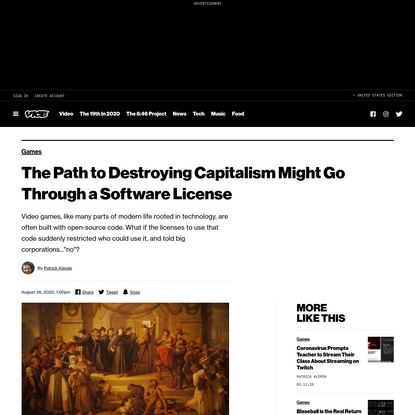 The Path to Destroying Capitalism Might Go Through a Software License