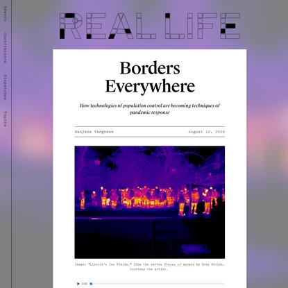 Borders Everywhere - Real Life