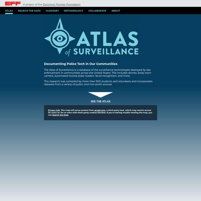 Atlas of Surveillance