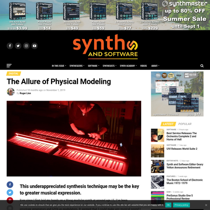 The Allure of Physical Modeling | Synth and Software