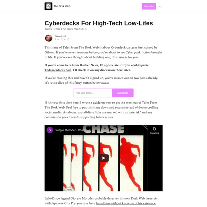 Cyberdecks For High-Tech Low-Lifes