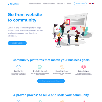 TokyWoky - Engage your online Customer Community
