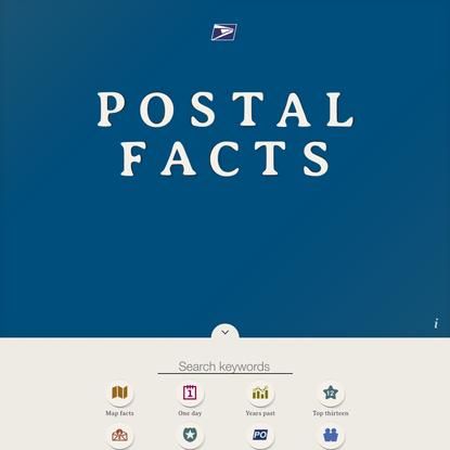 Postal Facts - U.S. Postal Service