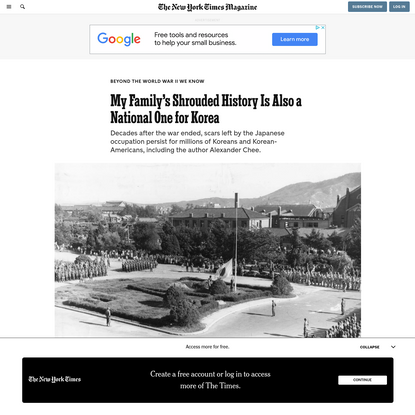 My Family's Shrouded History Is Also a National One for Korea - The New York Times