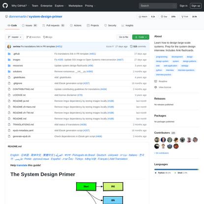 donnemartin/system-design-primer