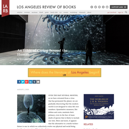 An Ethic of Caring Beyond the Human - Los Angeles Review of Books