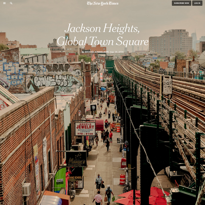 Jackson Heights, Queens: Walk Where the World Finds a Home