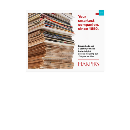Nonconforming   Harper's Magazine