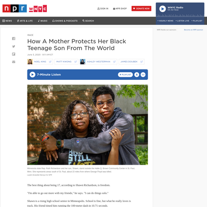 How A Mother Protects Her Black Teenage Son From The World
