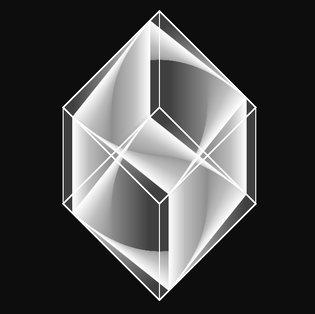rotating cube (P5js)