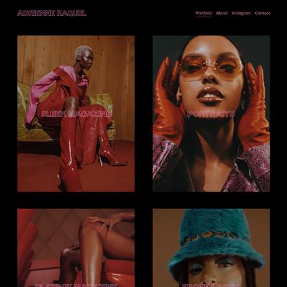 ADRIENNE RAQUEL - Photographer + Director.