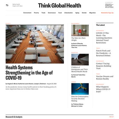Think Global Health