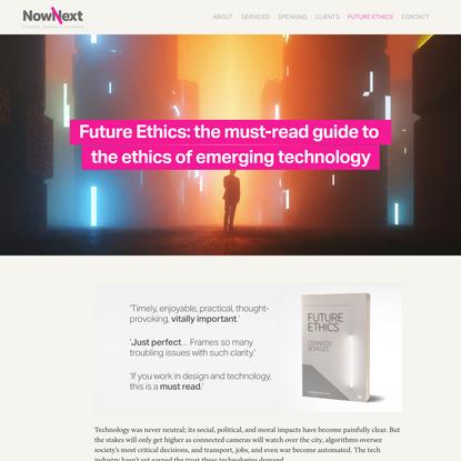 Future Ethics - NowNext