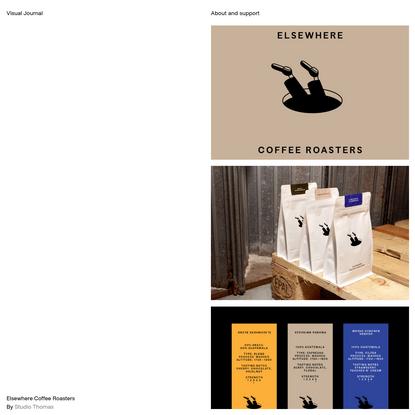 Elsewhere Coffee Roasters - Visual Journal