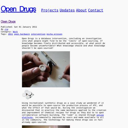 Open Drugs