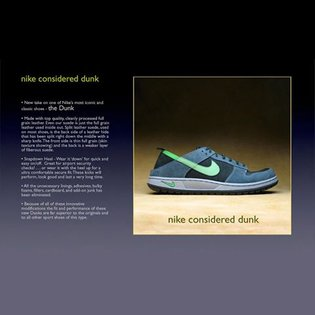 Nike Considered Dunk SMc design This is still my favorite design and worst of my life as being a consultant within Nike. I'm...