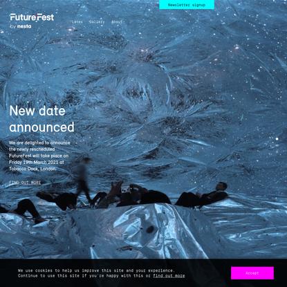 FutureFest - FutureFest 2020 by nesta