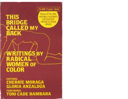 This Bridge Called My Back (Anthology) eds. Cherrie Moraga and Gloria Anzaldua